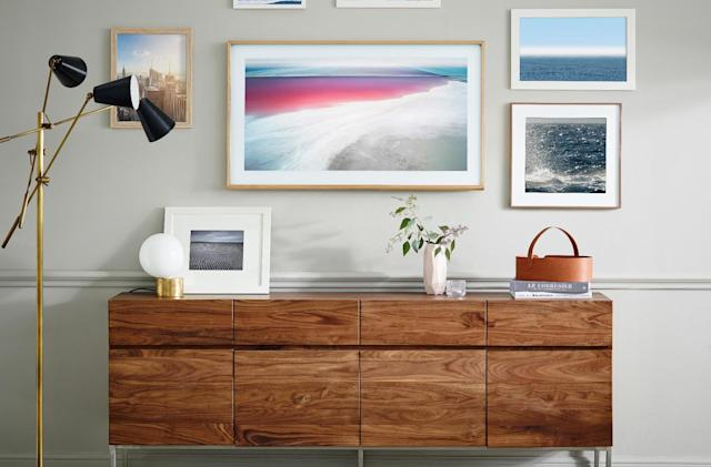 Samsung's 'The Frame' TV doubles as an art piece