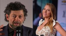 Lluvia de críticas a Andy Serkis por defender a Scarlett Johansson y su papel transgénero