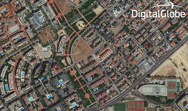 High-res imaging satellite shows off with crystal clear pics of Madrid