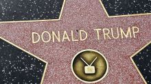 Trump's Walk of Fame Star Defaced Yet Again — This Time, with a Putin Jab