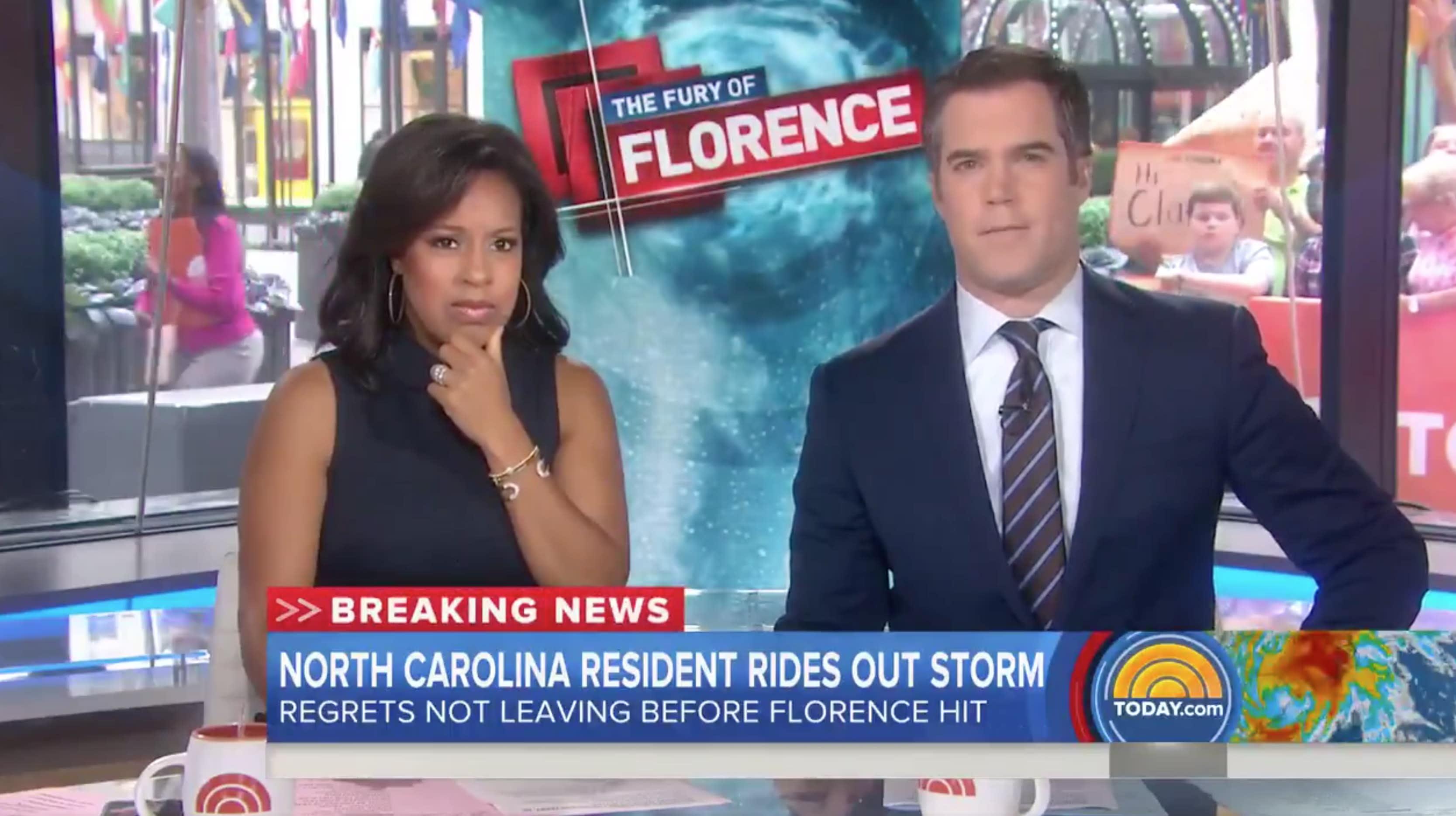 'I Will Never Ever Ever Stay' Again, Woman Stranded By Florence Tells 'Today'