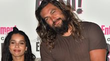 Aquaman Jason Momoa congratulates step-daughter Zoe Kravitz on Catwoman casting