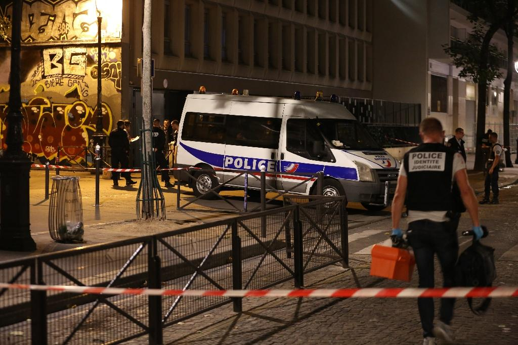 The attack took place in the 19th arrondissement of Paris (AFP Photo/Zakaria ABDELKAFI)