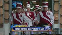 Temple Marching Band performs on GMA