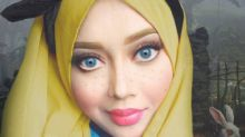 This makeup artist uses her hijab to transform herself into Disney princesses