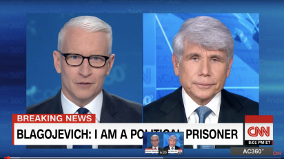 Cooper: 'You're hardly a political prisoner'