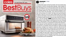 'Nasty' scenes and outraged shoppers as Coles air fryer sells out in seconds