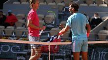 Roland-Garros (H) - Roland-Garros: Sebastian Korda repart avec le t-shirt dédicacé de Rafael Nadal