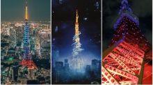 【有片】《Final Fantasy》 30周年記念活動 東京鐵塔變藍色水晶塔