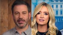 Jimmy Kimmel Rips Kayleigh McEnany's Latest Head-Spinning Defense Of Trump
