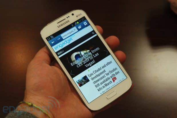 Samsung Galaxy Grand Duo Hands-On