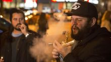 Photos: Canadians celebrate pot legalization by lighting up