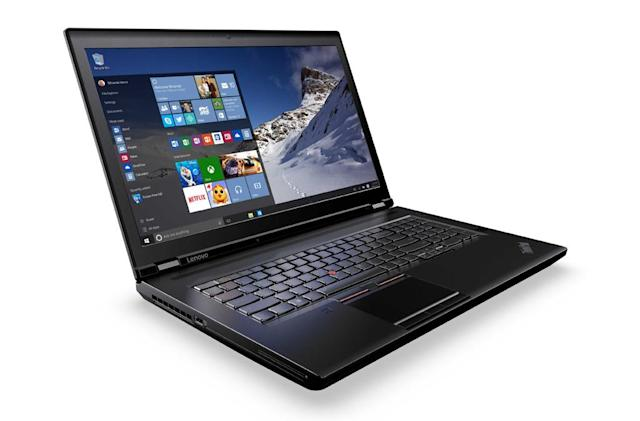 Lenovo's latest pro laptops pack 4K and Xeon processors