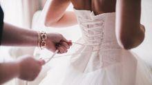 Bodybuilderin wird zur Braut: Fotos sorgen für Begeisterung