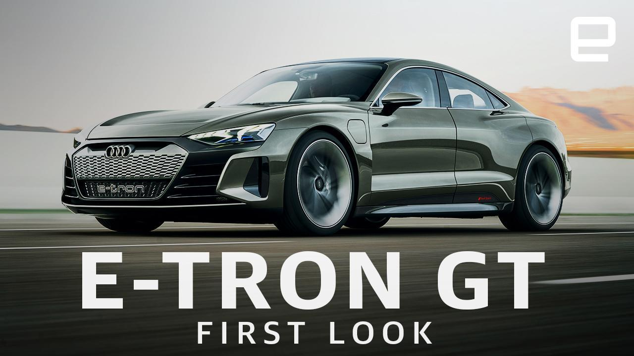 Audi's pure electric E-Tron GT is beautiful and fast   Engadget