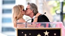 Goldie Hawn and Kurt Russell Kill Us With Cuteness at Hollywood Walk of Fame Ceremony