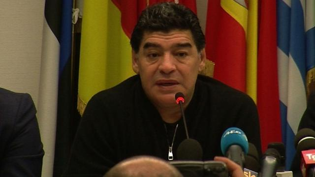 Maradona confirma apelo à UE no caso do fisco italiano