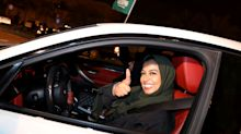 'It's Liberating': Saudi Women Take The Wheel As Decades-Old Driving Ban Ends