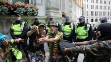 UK police brace for trouble as far-right and anti-racist groups protest