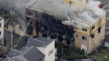 Photos: Dozens dead after attack on Japan animation studio