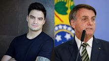"""Felipe Neto sobre dividir lista da Time com Bolsonaro: """"Pior presidente do mundo"""""""