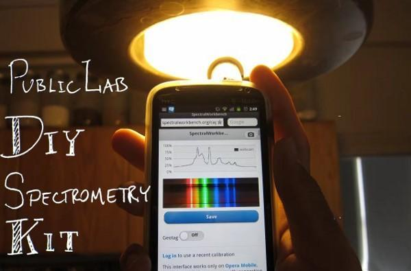 Insert Coin: Public Lab DIY Spectrometer wants to be the 'Shazam of materials'
