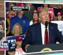 President Trump holds record-breaking rally in New Hampshire