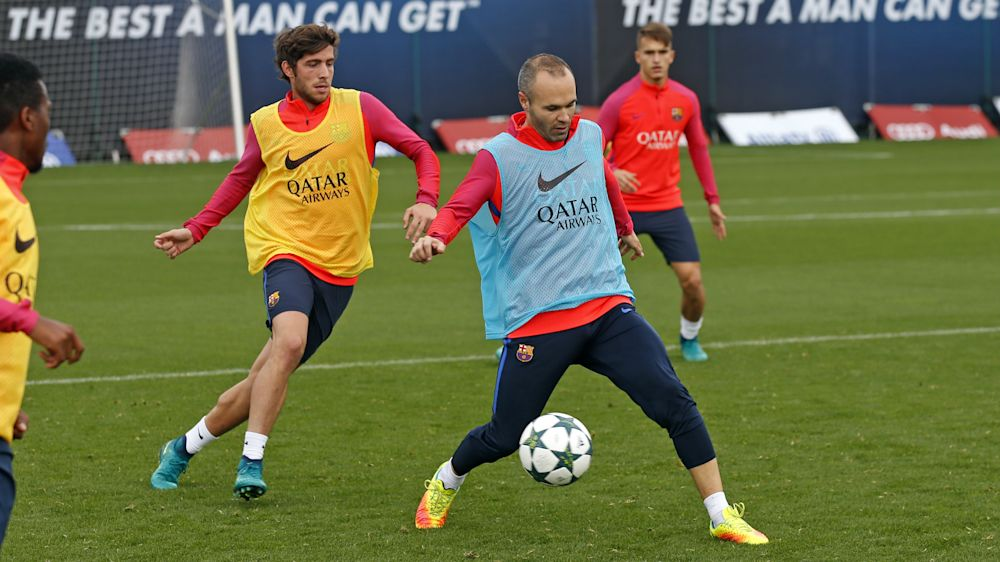 El Barcelona recupera la seriedad antes de medirse a la Real Sociedad