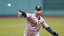 Ex-Yankees prospect picks up 1st MLB win vs. Red Sox