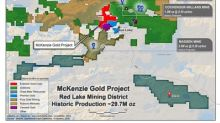Enforcer Gold Reviews Mckenzie Gold Project, Red Lake, Ontario