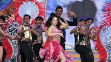 Sunny Leone thrills with a tribute to the most iconic dance numbers