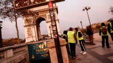 """""""Gilets jaunes"""": à Paris, une mobilisation plus faible et dans le calme pour l'acte V"""