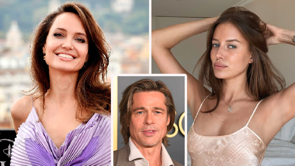 Brad Pitt 56 Dating Angelina Lookalike Nicole Poturalski 27
