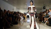 Bold and beautiful: Acid attack victim walks the ramp at NY Fashion Week