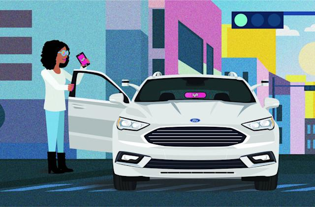 Ford joins Lyft's expanding group of self-driving partners