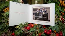 As Meghan, Harry & Archie share their first family Christmas snap, we look at Royal Family cards through the years