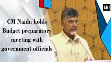 CM Naidu holds Budget preparatory meeting with government officials