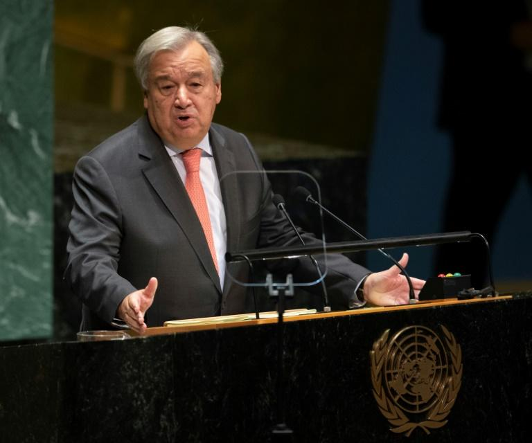 United Nations chief says United Nations facing worst cash crisis in almost 10 years