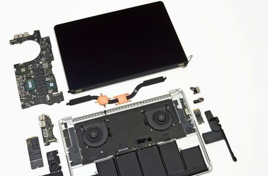 iFixit tears the MacBook Pro with Retina Display to pieces, gets a few shocks on the way