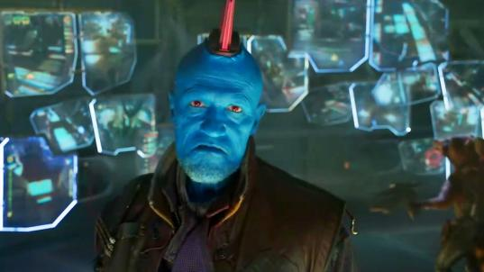 'Guardians' gaffe: How Michael Rooker nearly blew Yondu's big moment