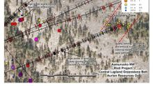 Aurion Reports Two New High Grade Gold Discoveries and Provides Update on 2018 Field Exploration Program