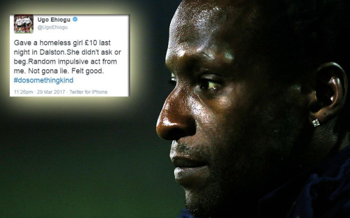 Ugo Ehiogu's final tweet