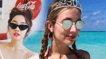 旅行髮型指南!就算出海落水都不易變型的「照騙」髮型