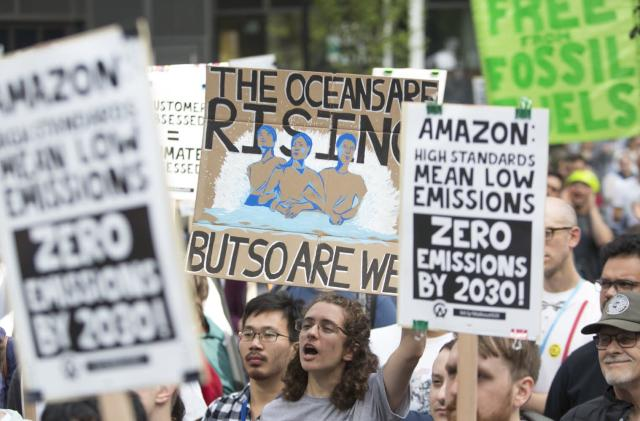 Amazon employees say they were threatened for climate change criticism