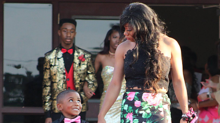 Little Boy Steps Up for His Cousin After She's Stood Up for Prom