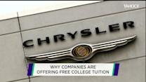 Chrysler joins Starbucks in 'schooling' America's workforce