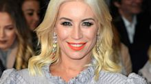 Denise Van Outen, helping to make NHS scrubs, says she won't point fingers about the lack of PPE