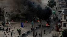 Gunfire heard, smoke seen rising in Nigeria's Lagos