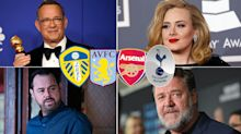 Quiz! Match the celebrity to the football team they support