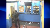 Surveillance video of Pay-O-Matic robbery
